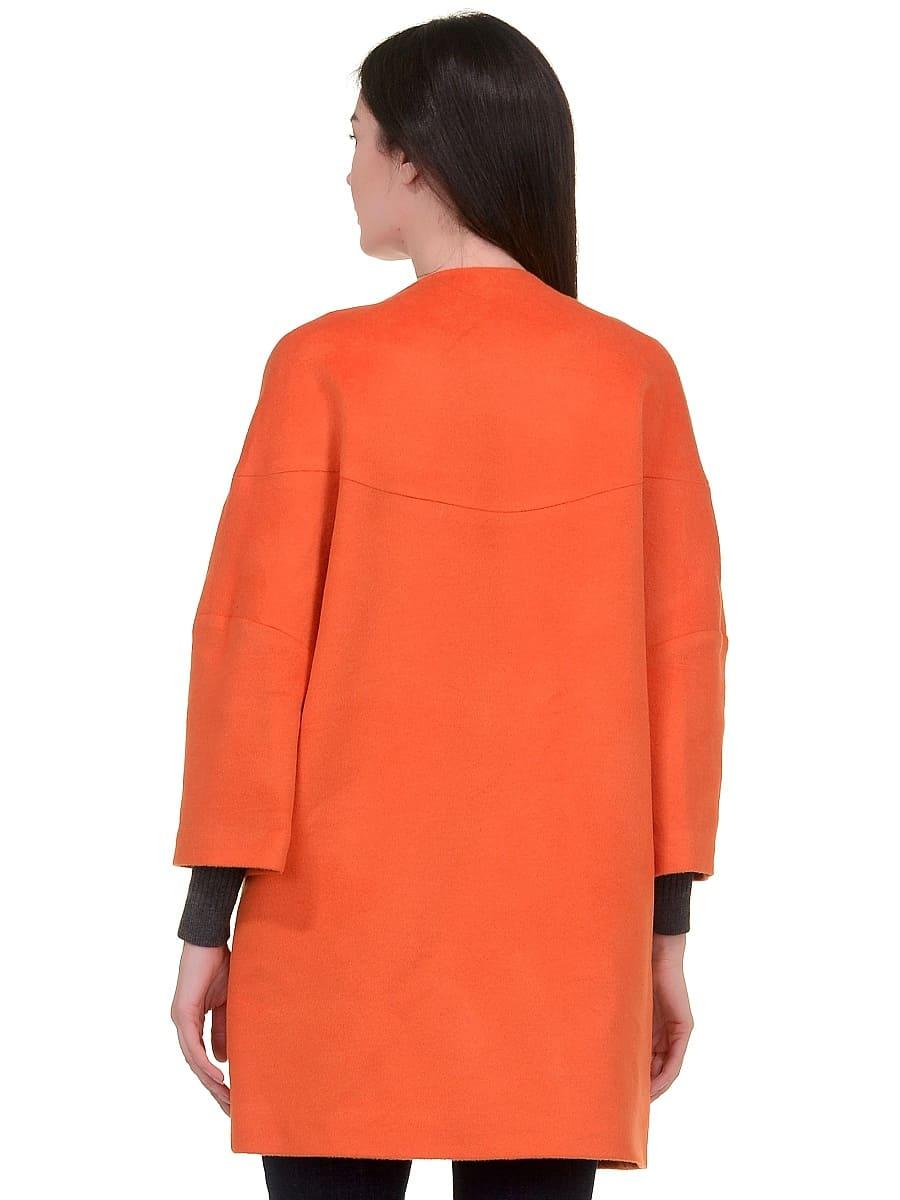 Женское-демисезонное-пальто-hr-019-оранжевое-фото-3
