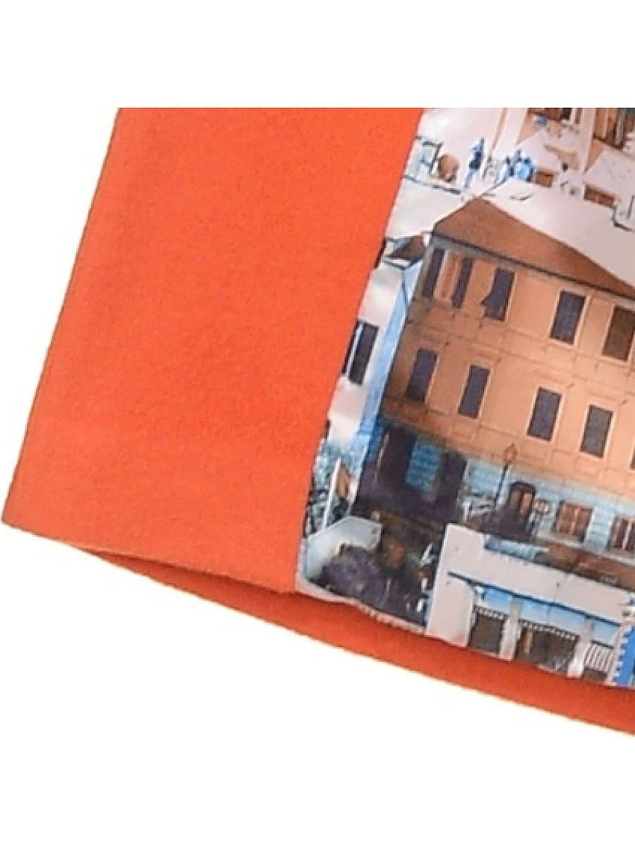 Женское-демисезонное-пальто-hr-019-оранжевое-фото-4