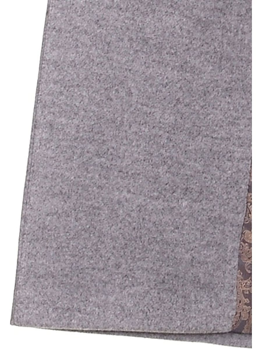 Женское демисезонное пальто hr-020 светло-серое фото-4