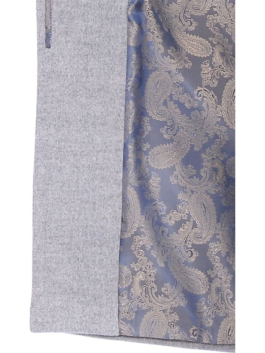 Женское демисезонное пальто hr-001a серое фото-4