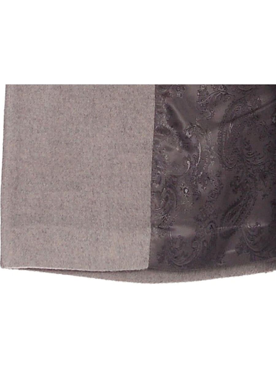 Женское демисезонное пальто-hr-005 светло-оливковое фото-4