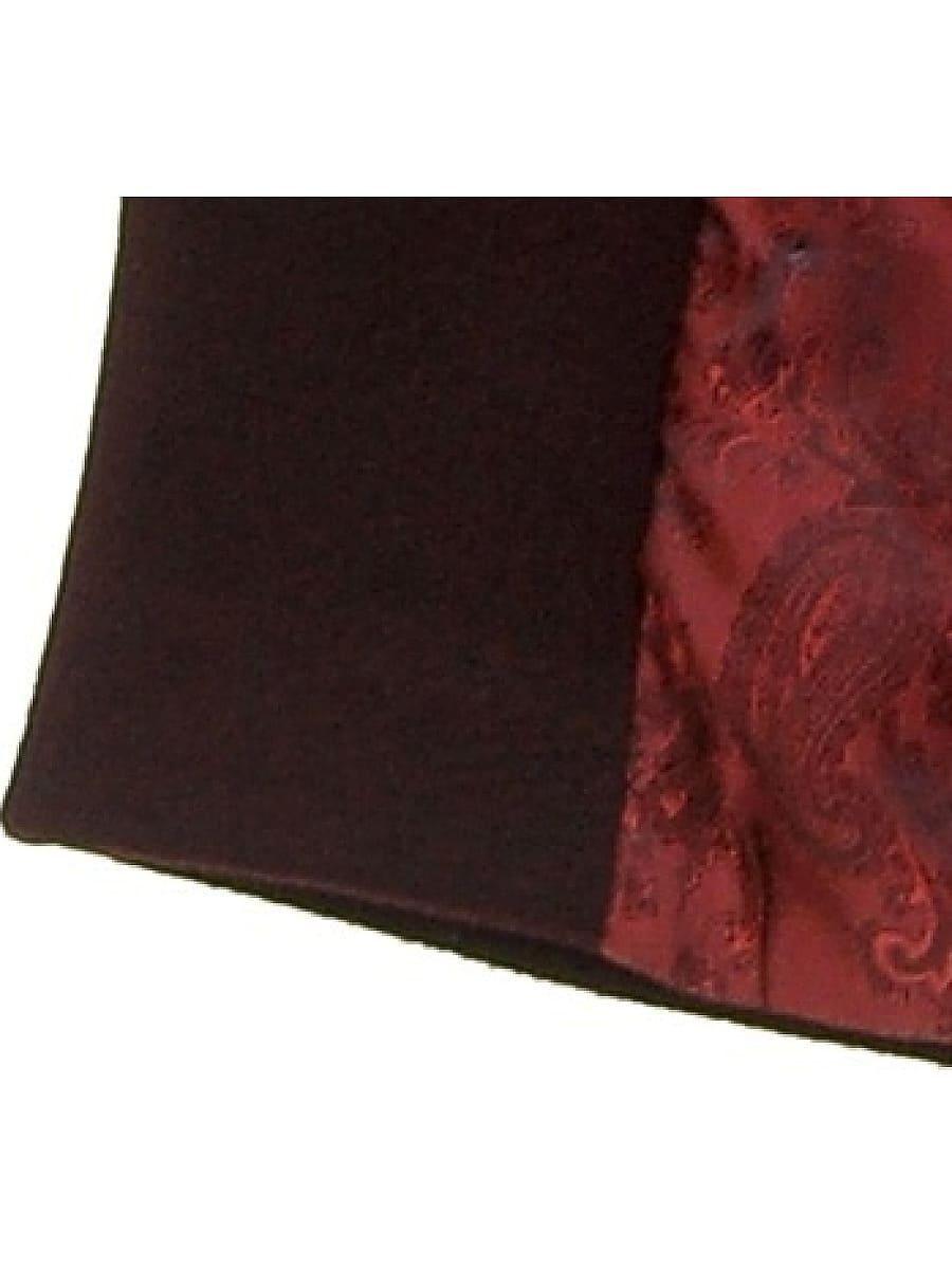 Женское демисезонное пальто hr-010 вишневое фото-4