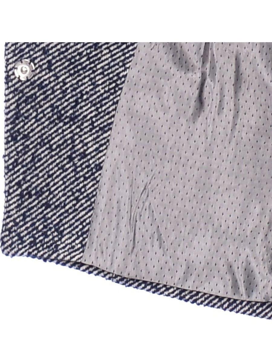 Женское демисезонное пальто hr-022 синее фото-4