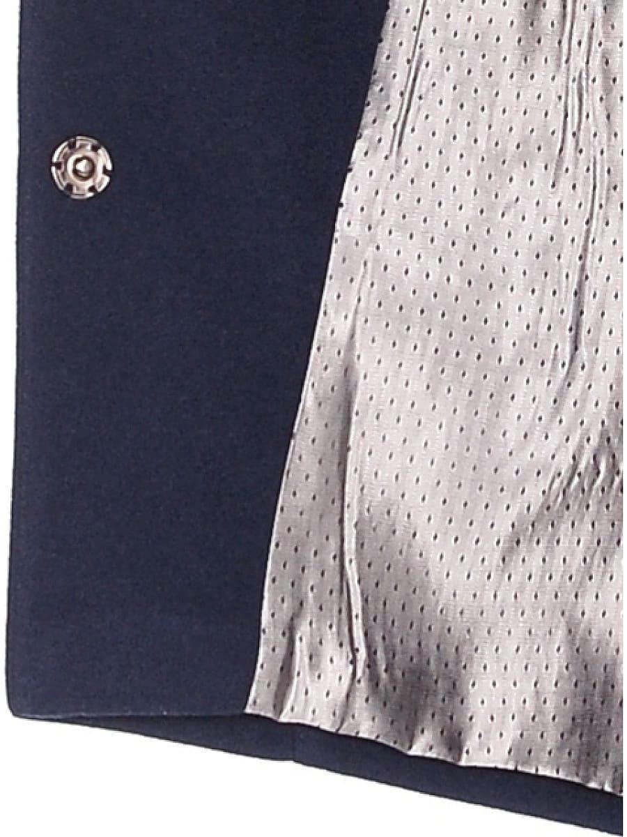 Женское демисезонное пальто hr-022a синее фото-4