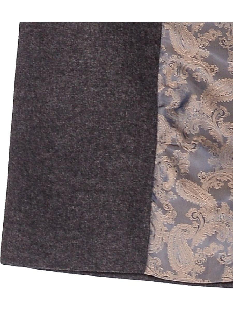 Женское зимнее пальто hr-009 серое фото-4