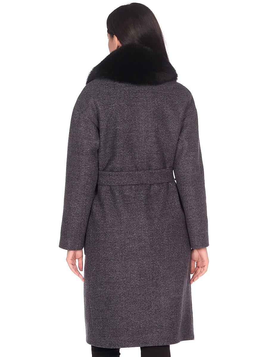 Женское зимнее пальто hr-009 синее фото-3