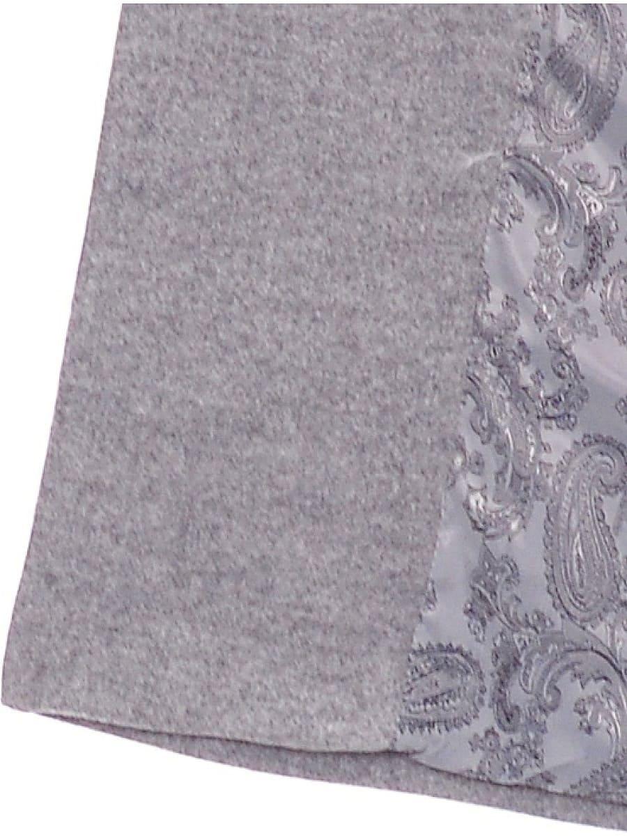 Женское зимнее пальто hr-014 светло-серое фото-4