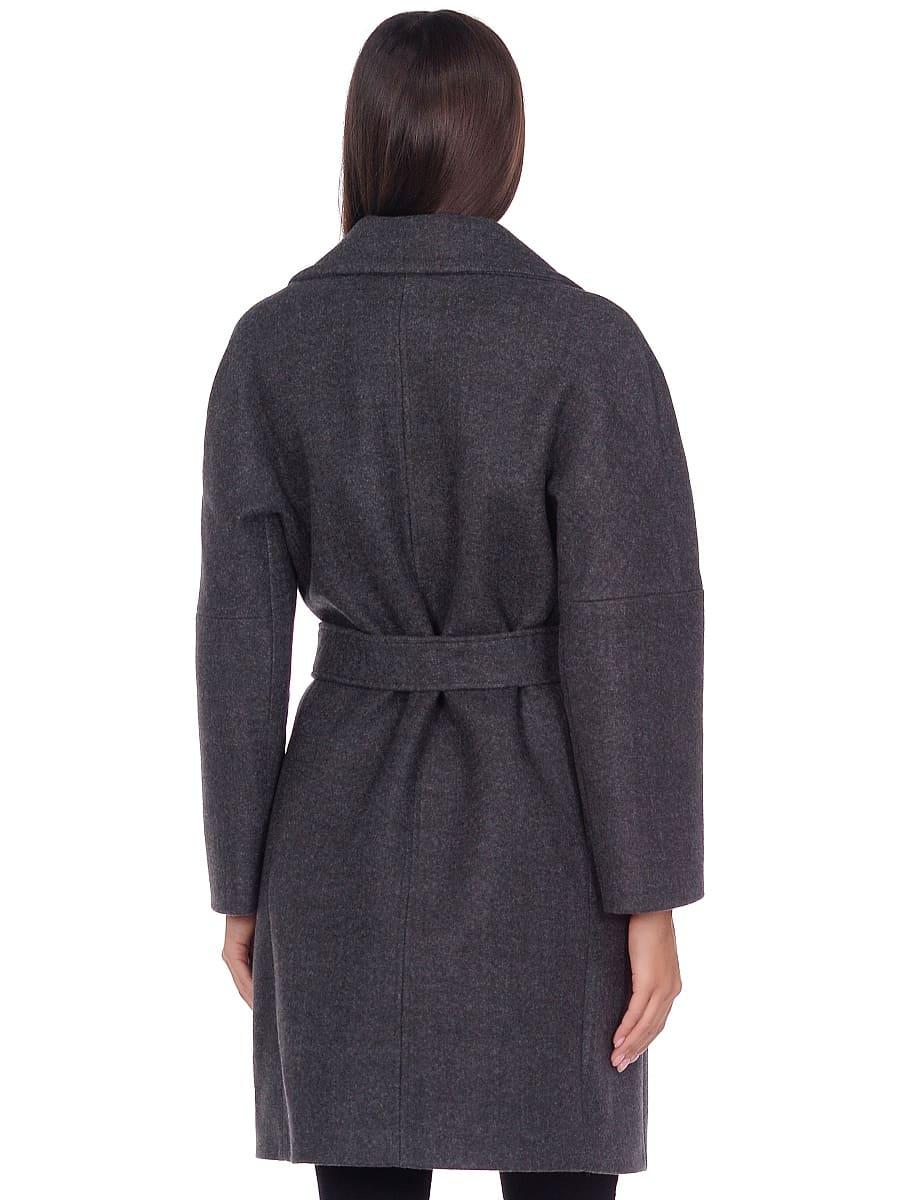 Женское демисезонное пальто hr-018 зеленое фото-3