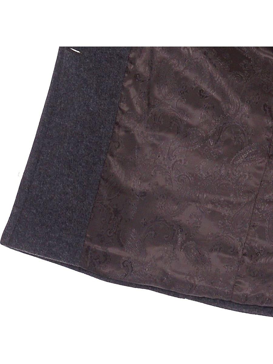 Женское демисезонное пальто hr-018 зеленое фото-4
