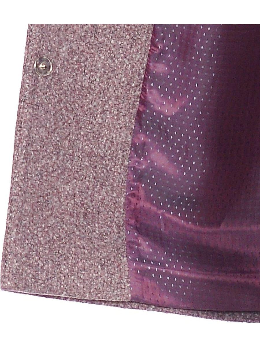 Женское демисезонное пальто hr-023a розовое фото-4