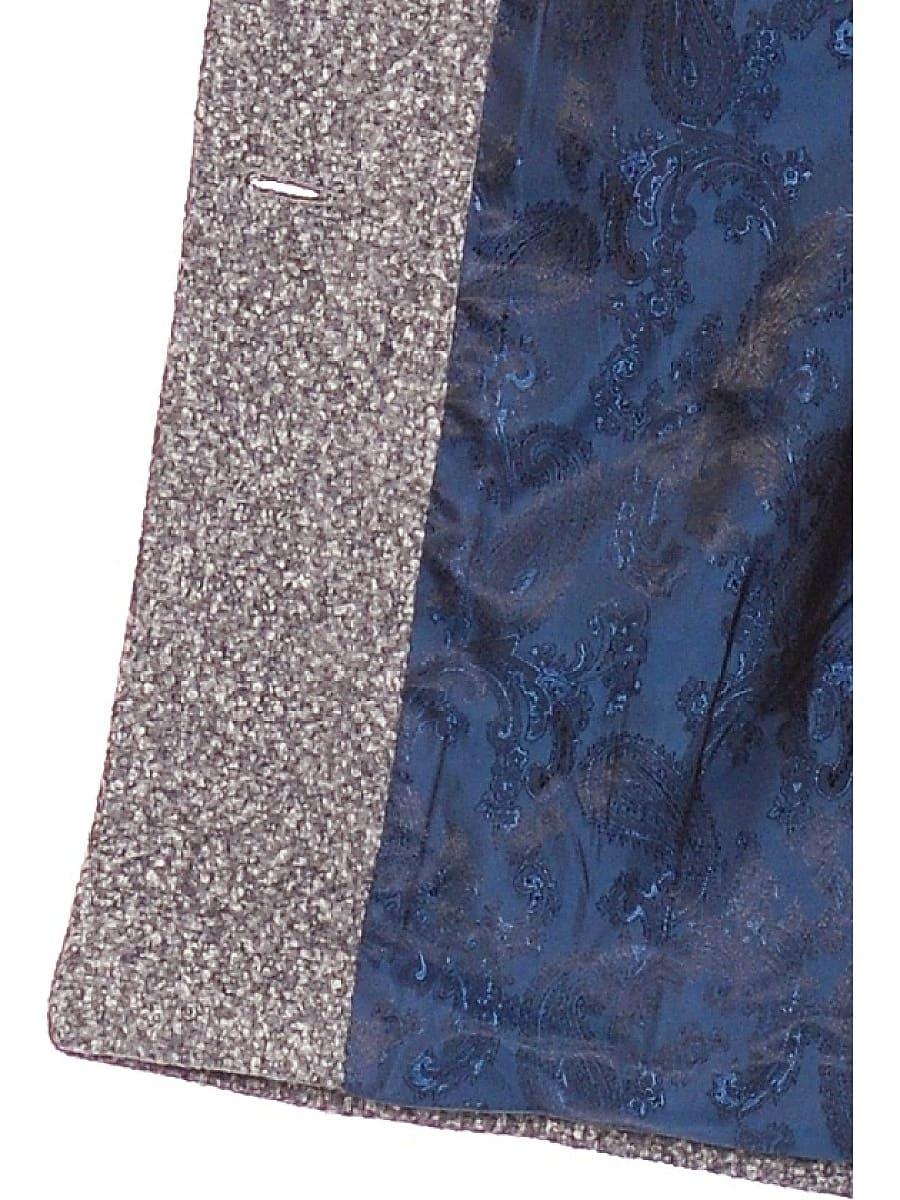 Женское демисезонное пальто hr-024 серое фото-4
