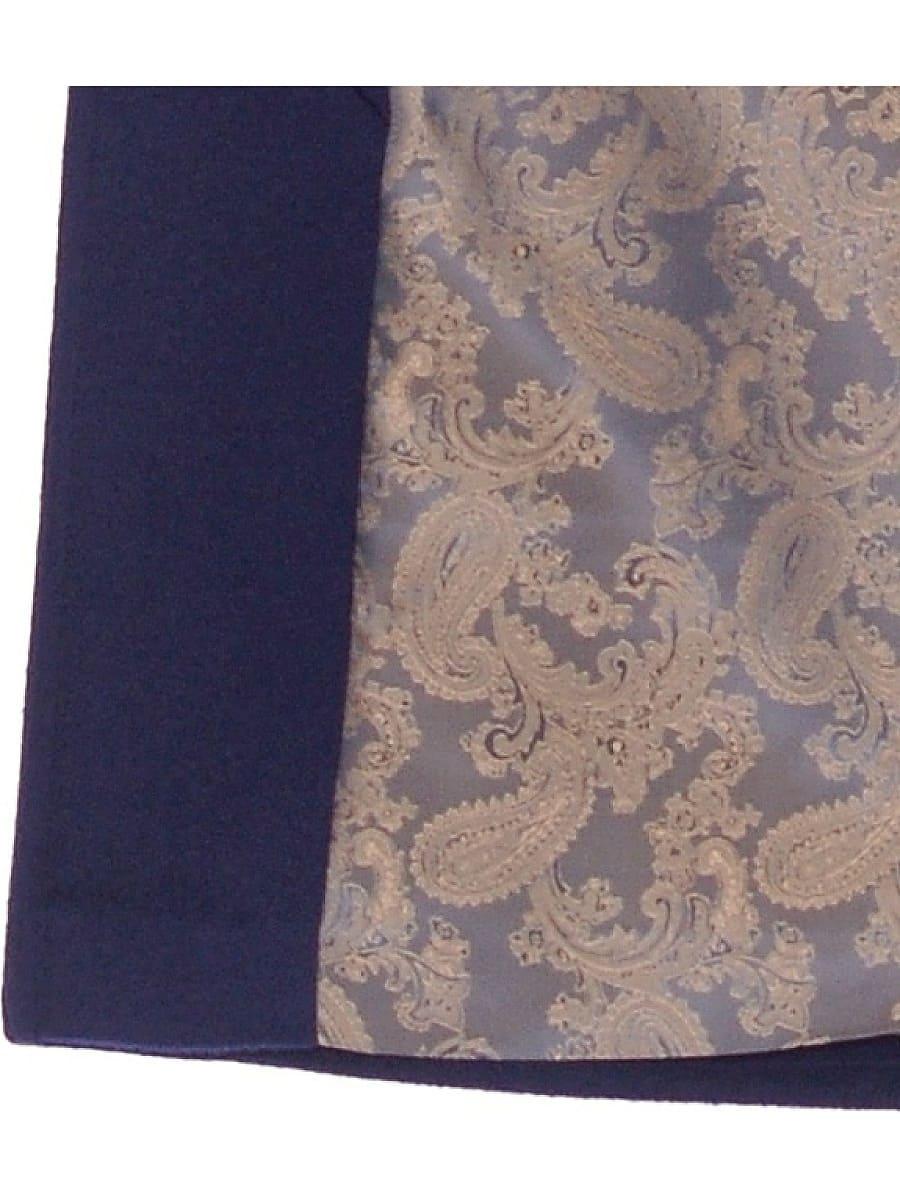 Женское демисезонное пальто hr-026 синее фото-4