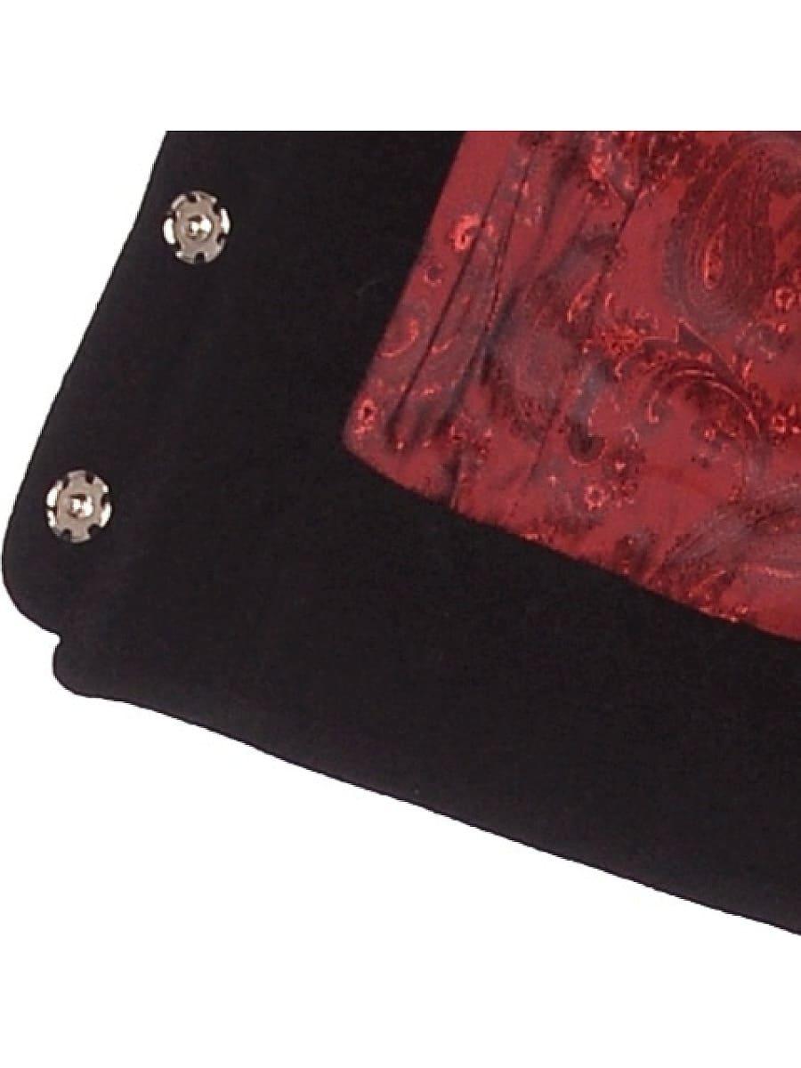 Женское демисезонное пальто hr-037 черное фото-4