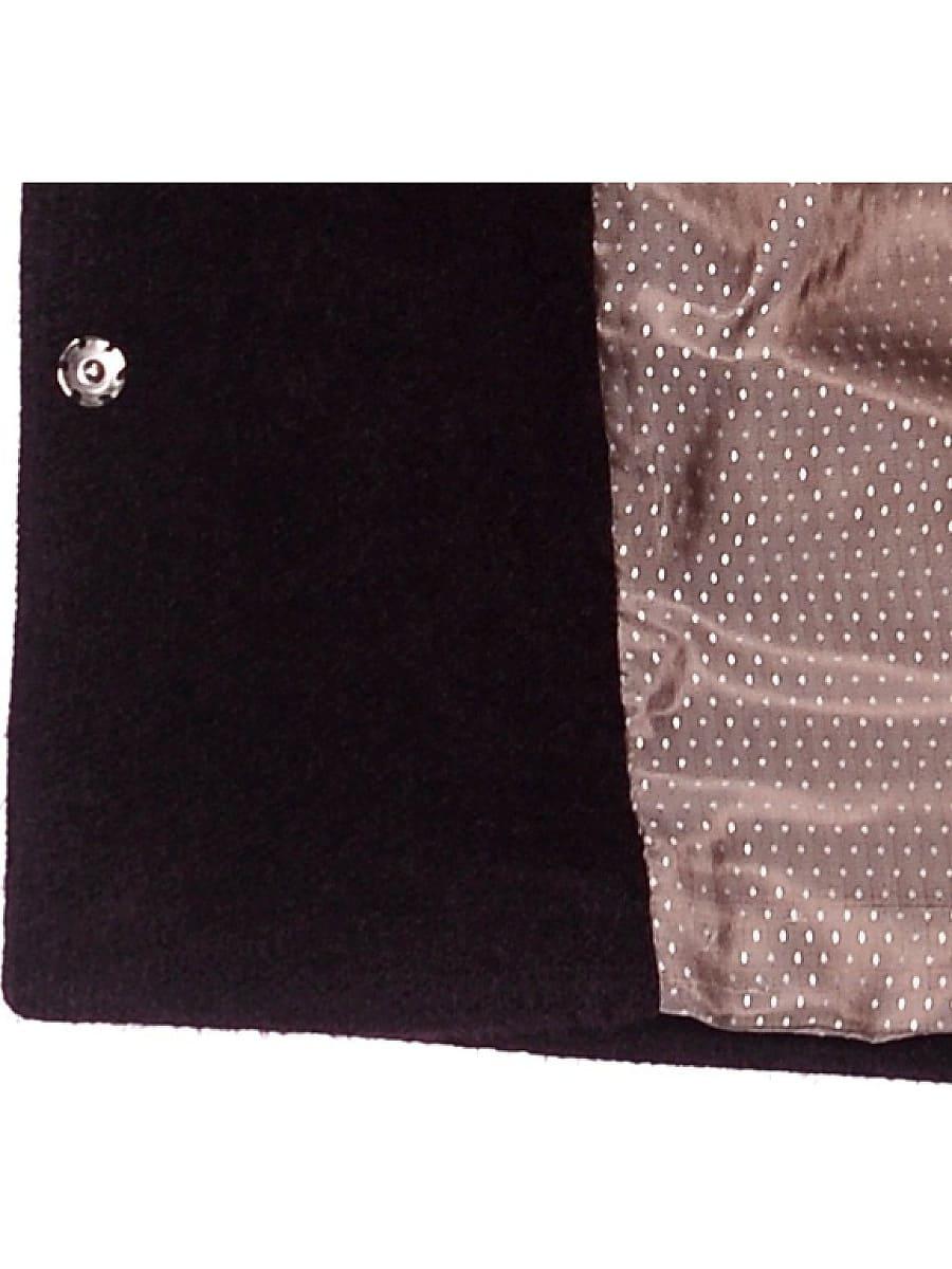 Женское демисезонное пальто hr-042 фиолетовое фото-4