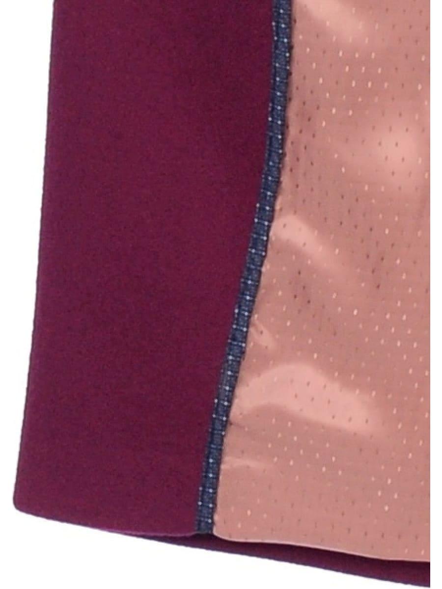 Женское демисезонное пальто hr-043 фиолетовое фото-4