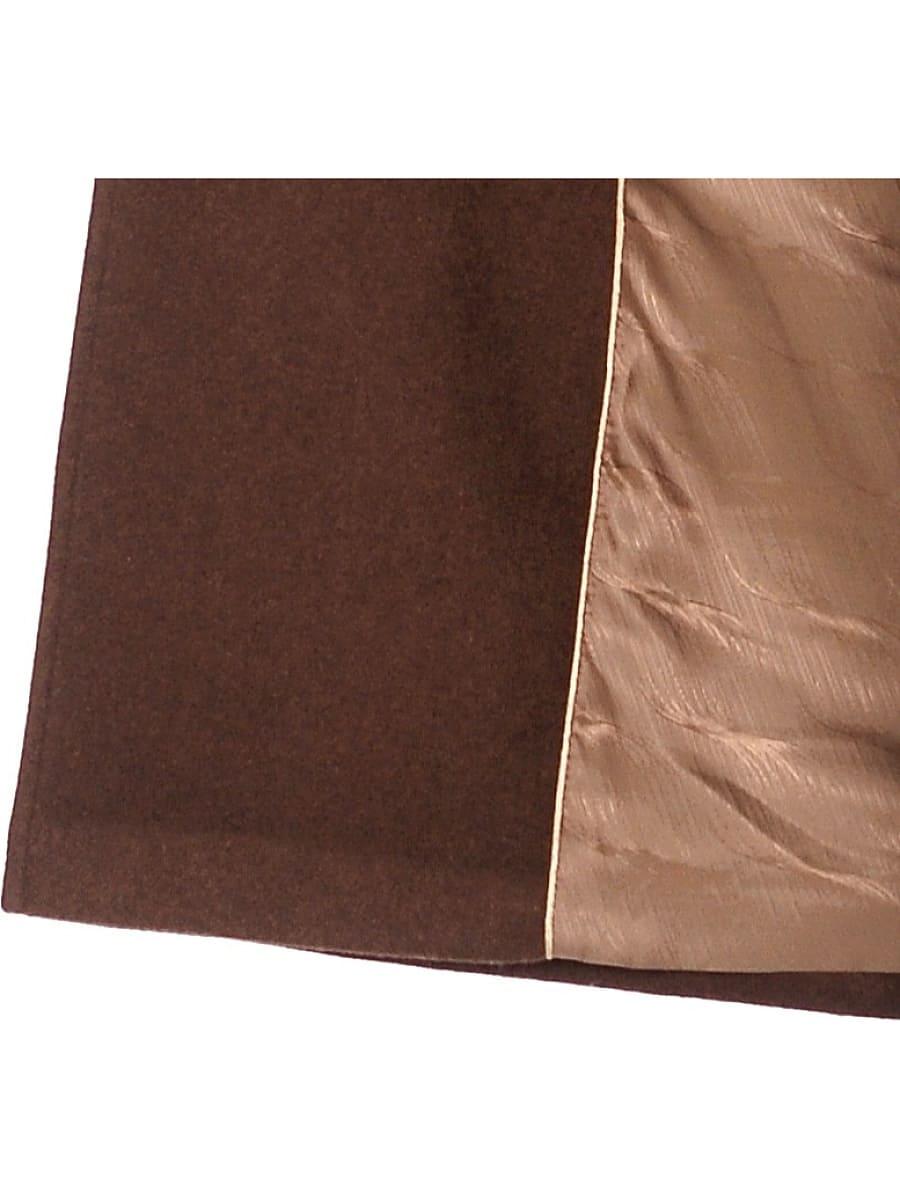 Женское зимнее пальто hr-1010 коричневое фото-4