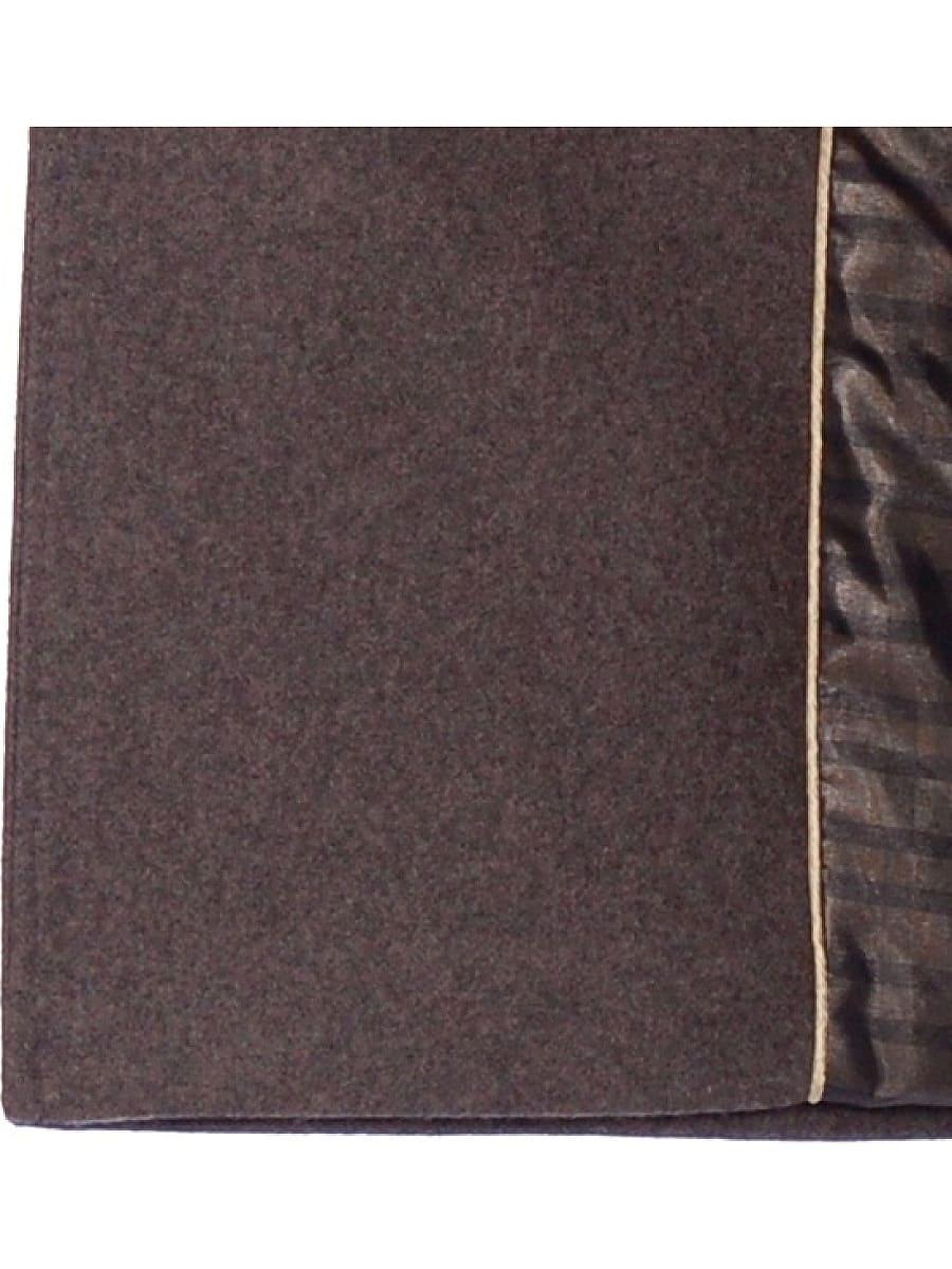 Женское зимнее пальто hr-1010 темно-коричневое фото-4