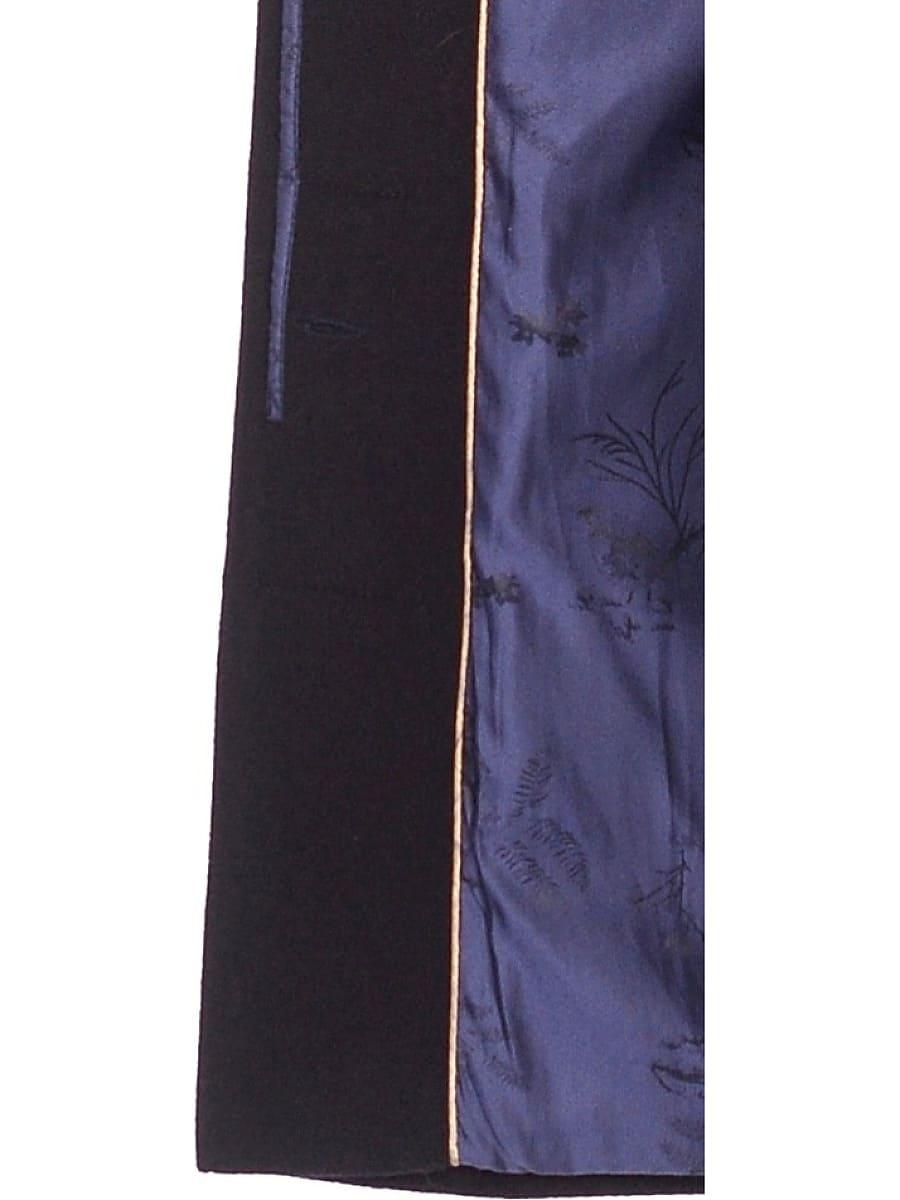 Женское зимнее пальто hr-1012 синее фото-5