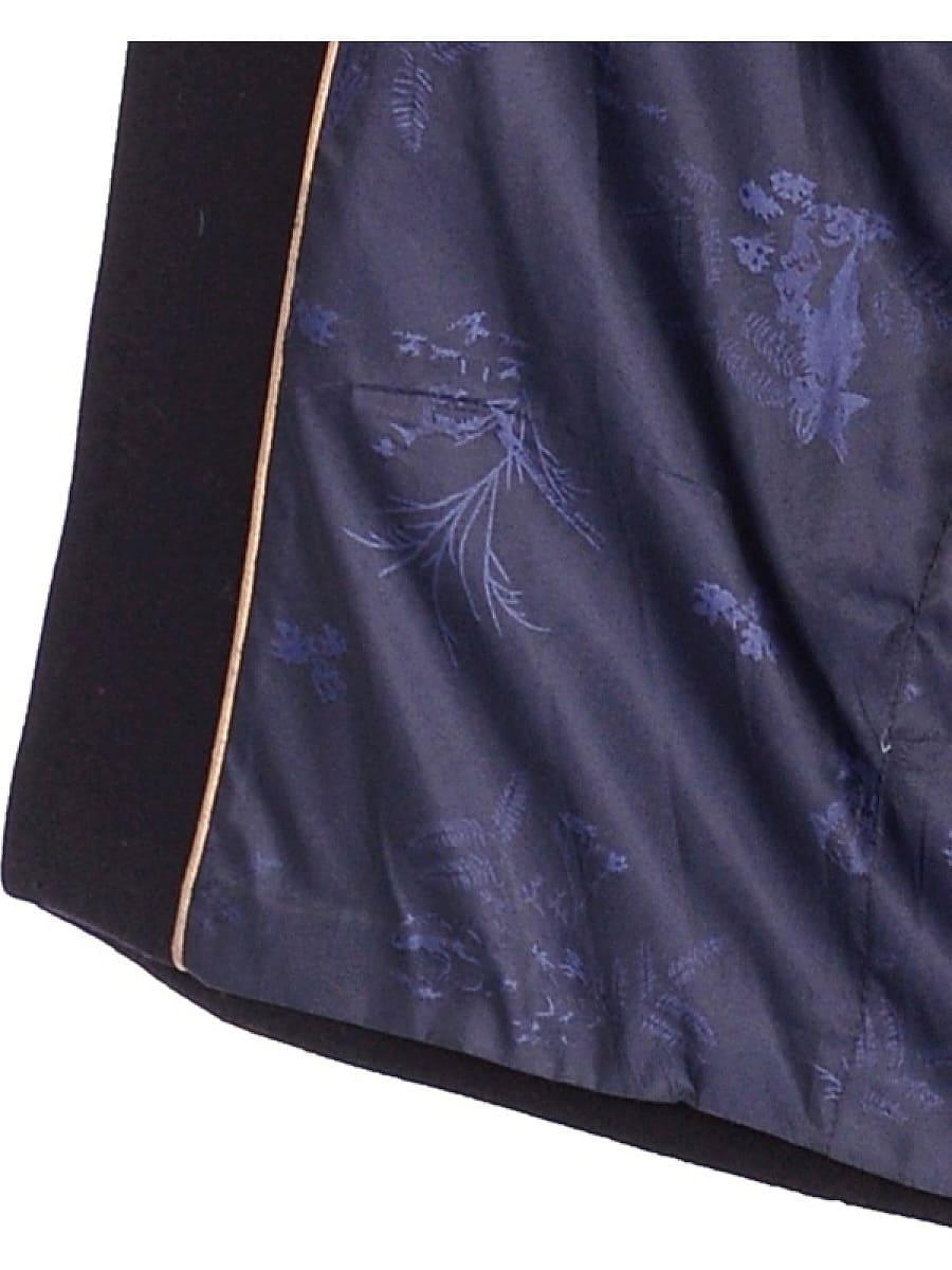 Женское зимнее пальто hr-1013 синее фото-4