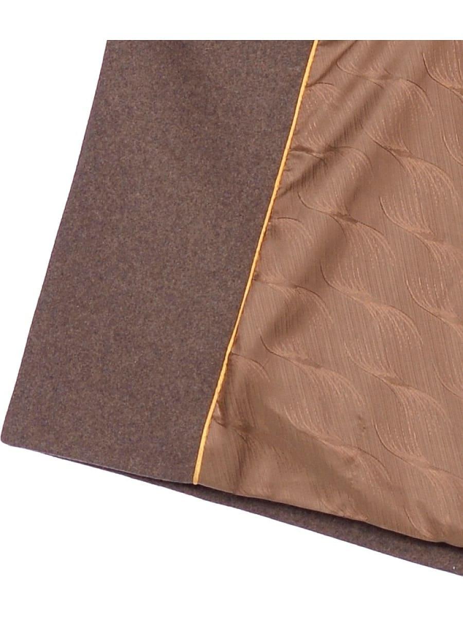 Женское зимнее пальто hr-1014 коричневое фото-4