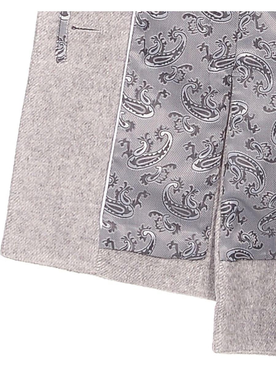 Женское зимнее пальто hr-1016 светло-серое фото-4