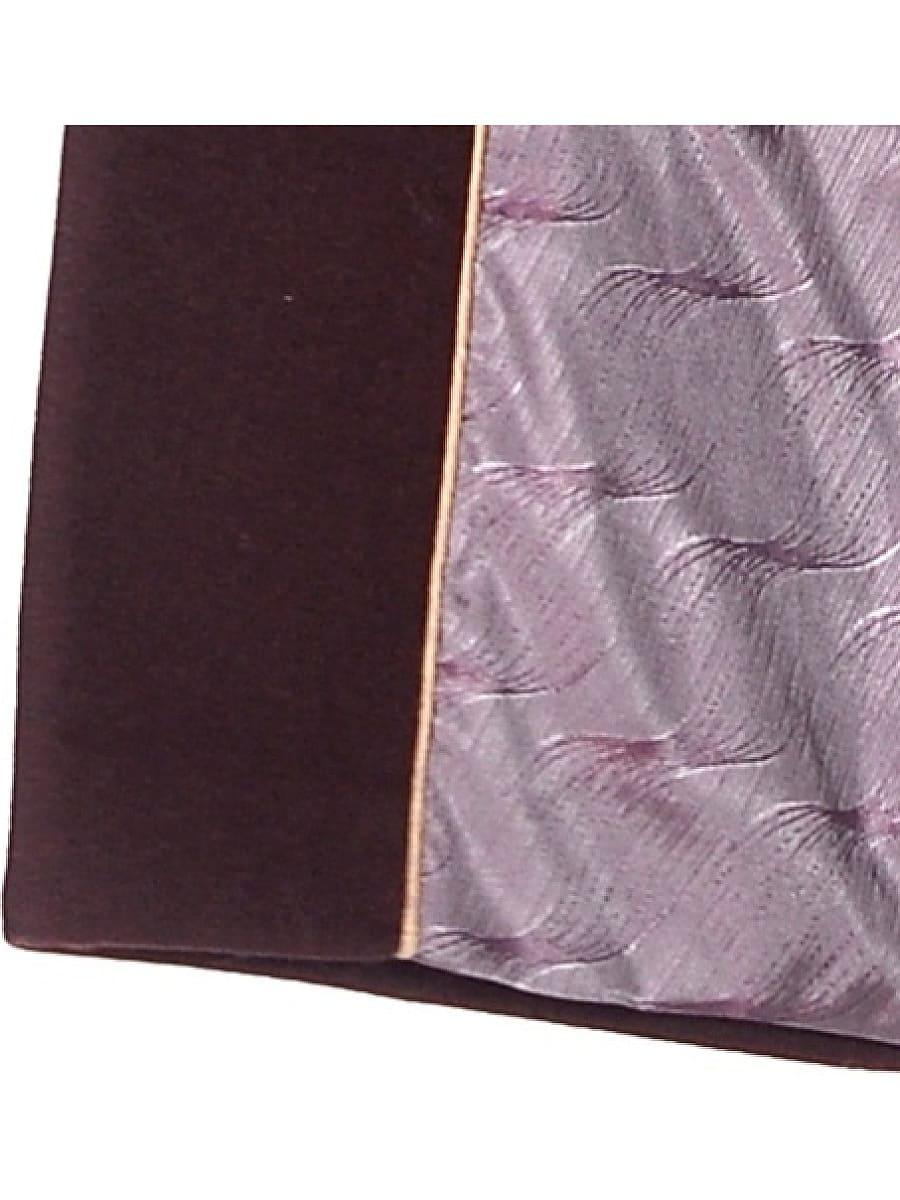 Женское зимнее пальто hr-1018 бордовое фото-4