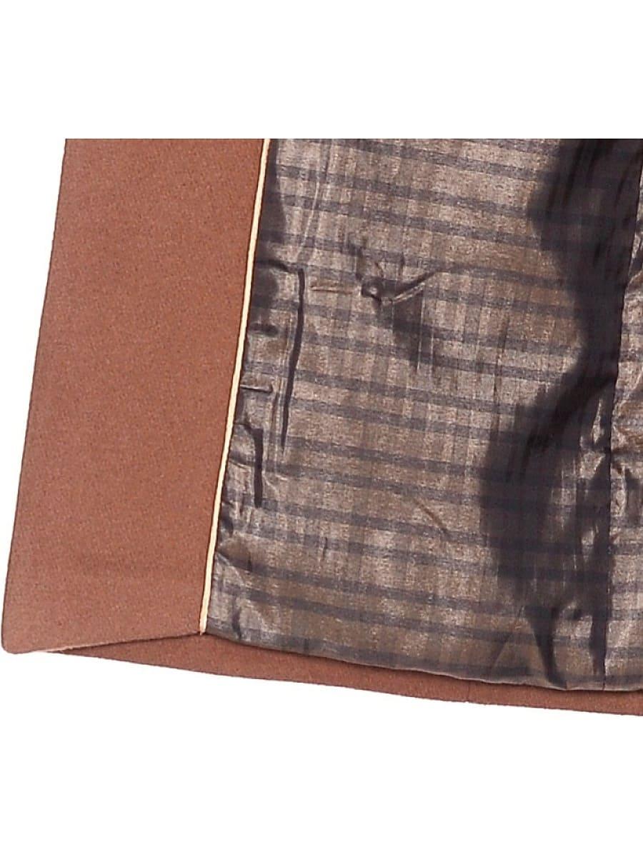 Женское зимнее пальто hr-1018 коричневое фото-4
