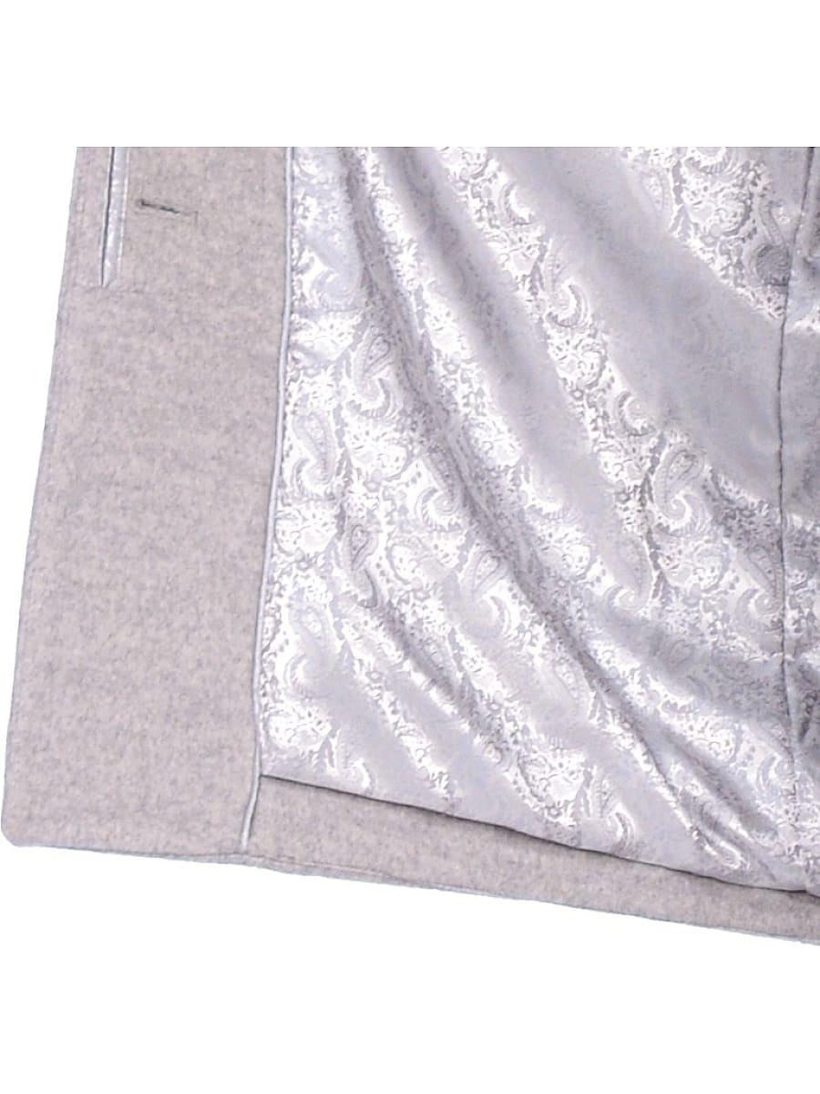 Женское зимнее пальто hr-1019 светло-серое фото-5