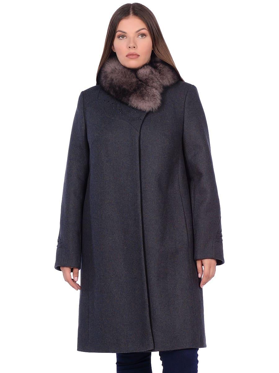 Женское зимнее пальто hr 1020 зеленое фото-2