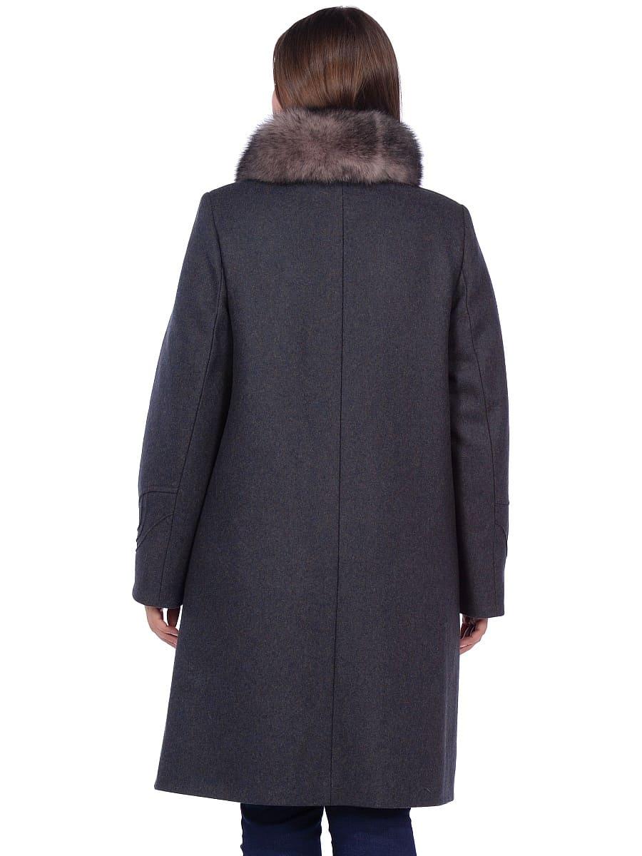 Женское зимнее пальто hr 1020 зеленое фото-3