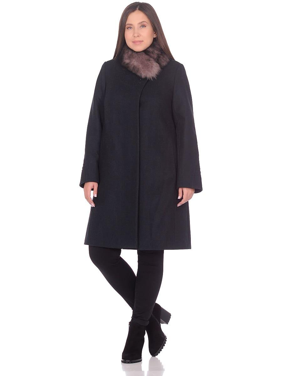Женское зимнее пальто hr 1020 изумрудное фото-1
