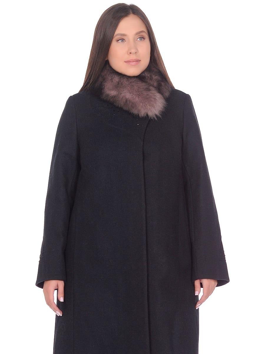Женское зимнее пальто hr 1020 изумрудное фото-2