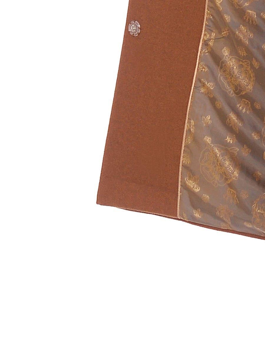 Женское зимнее пальто hr-1021 коричневое фото-4