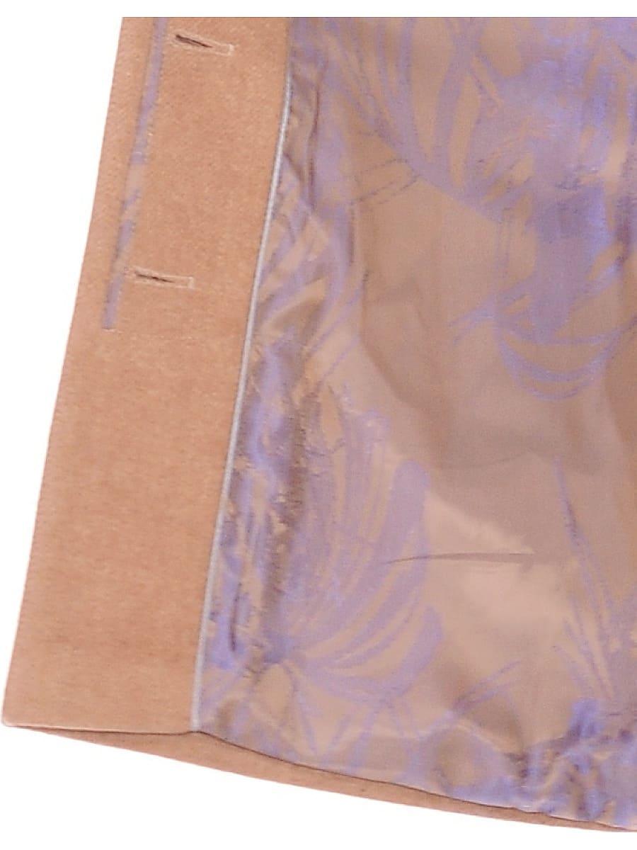 Женское зимнее пальто hr-1022 бежевое фото-4
