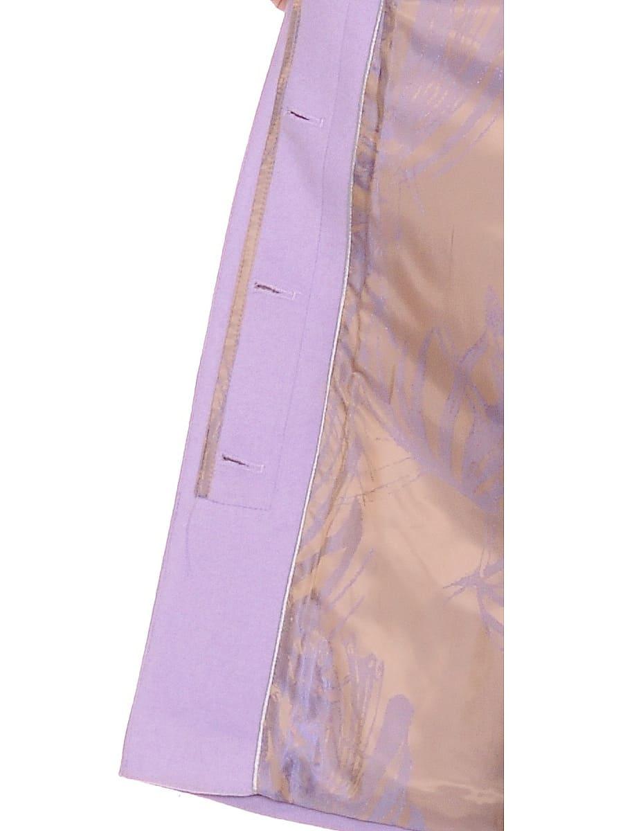 Женское зимнее пальто hr-1022 сиреневое фото-4