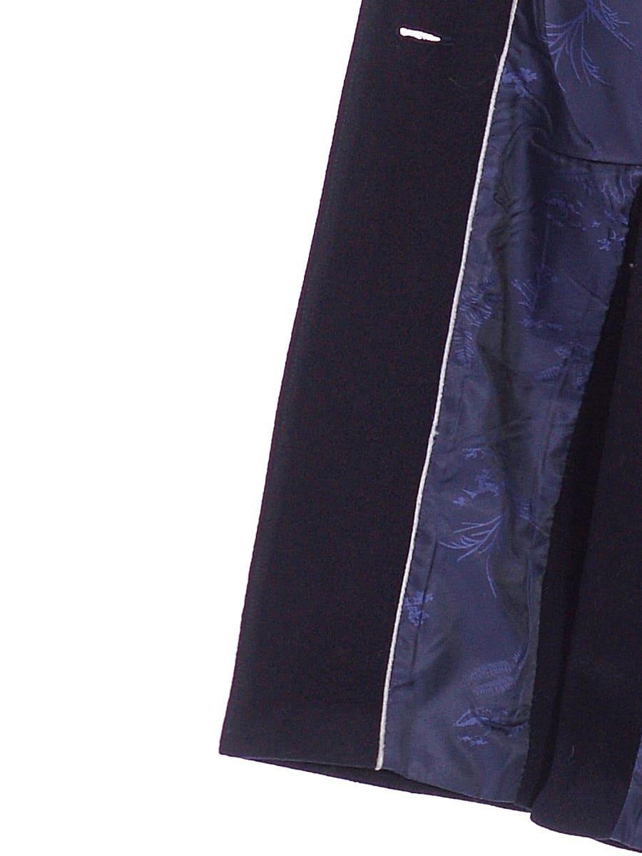 Женское зимнее пальто hr-1024 синее фото-4