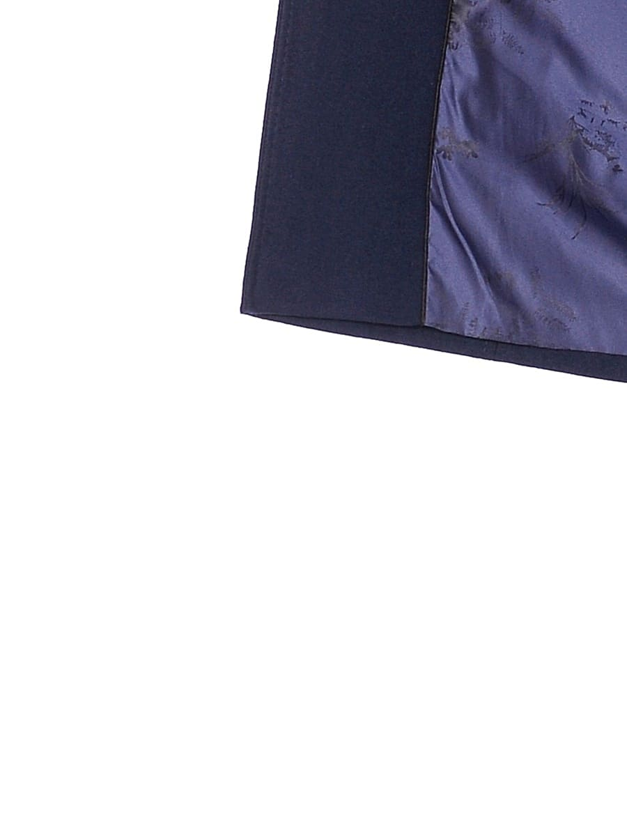 Женское зимнее пальто hr-1026 синее фото-4