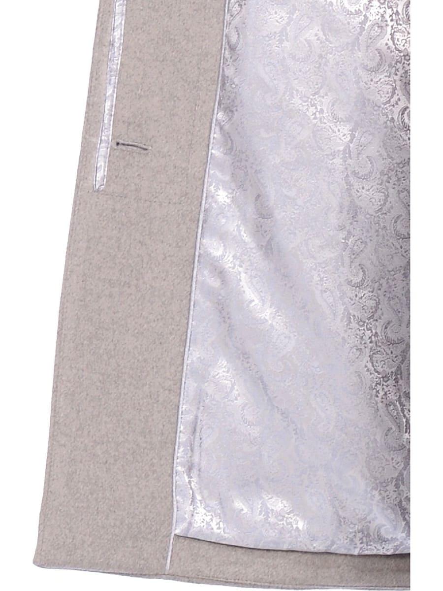 Женское зимнее пальто hr-1019 темно-серое фото-5