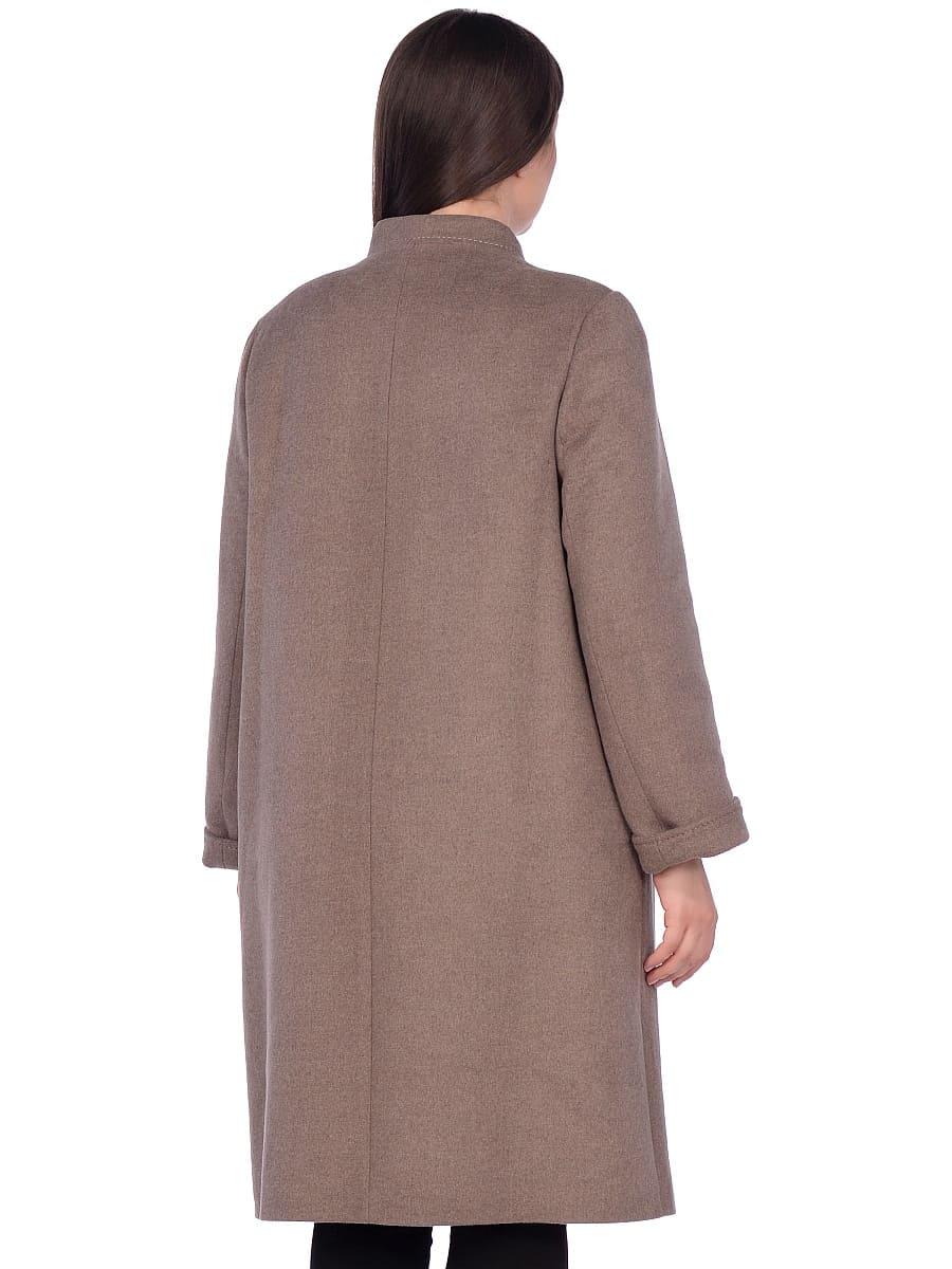 Женское зимнее пальто hr-1007 бежевое фото-3