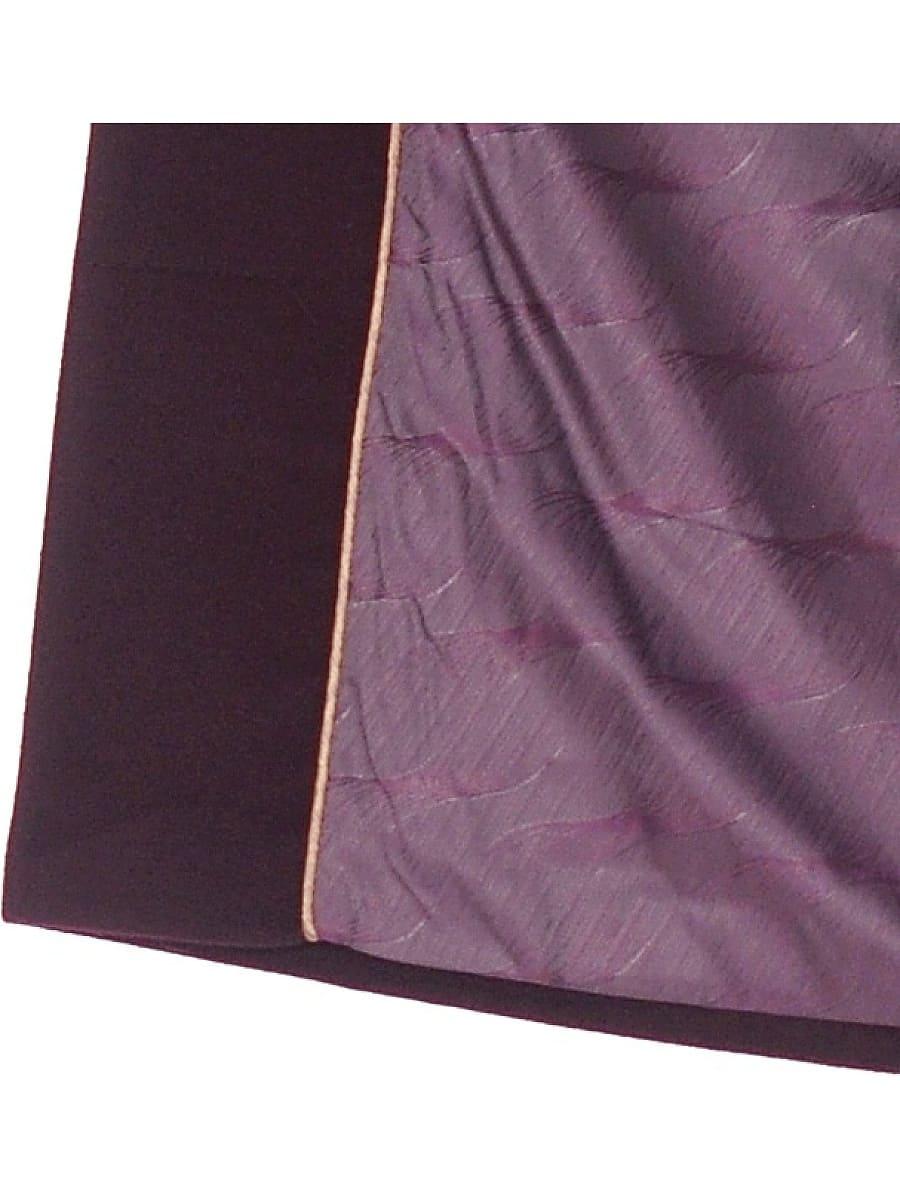 Женское зимнее пальто hr-1012 темно-пурпурное фото-5
