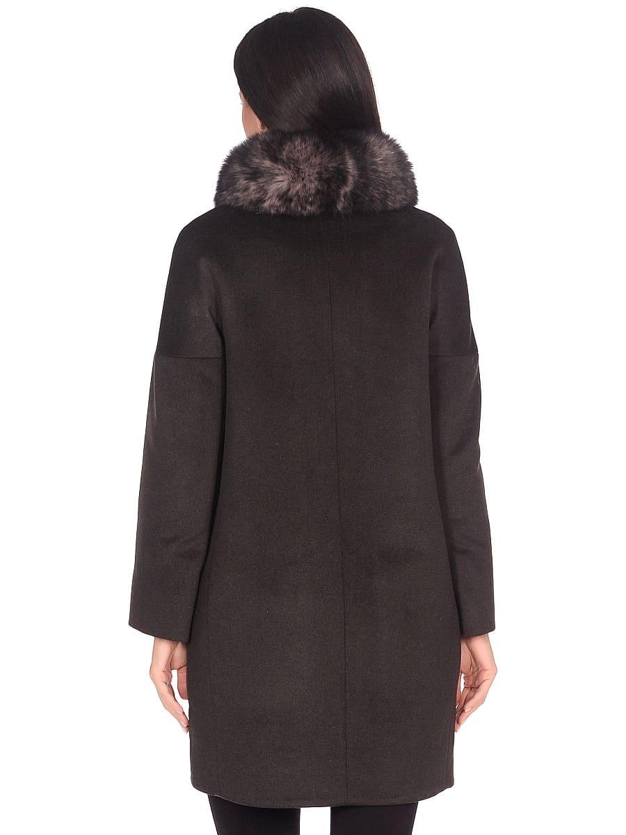 Женское зимнее пальто hr-1016 хаки фото-3