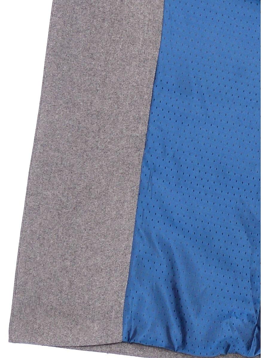 Женское демисезонное пальто hr-046 серое фото-4