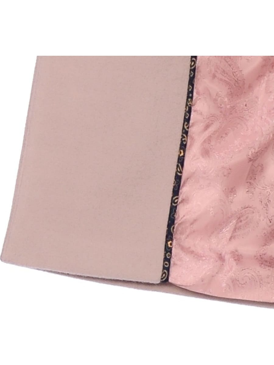 Женское демисезонное пальто hr-044 светло-серое фото-4