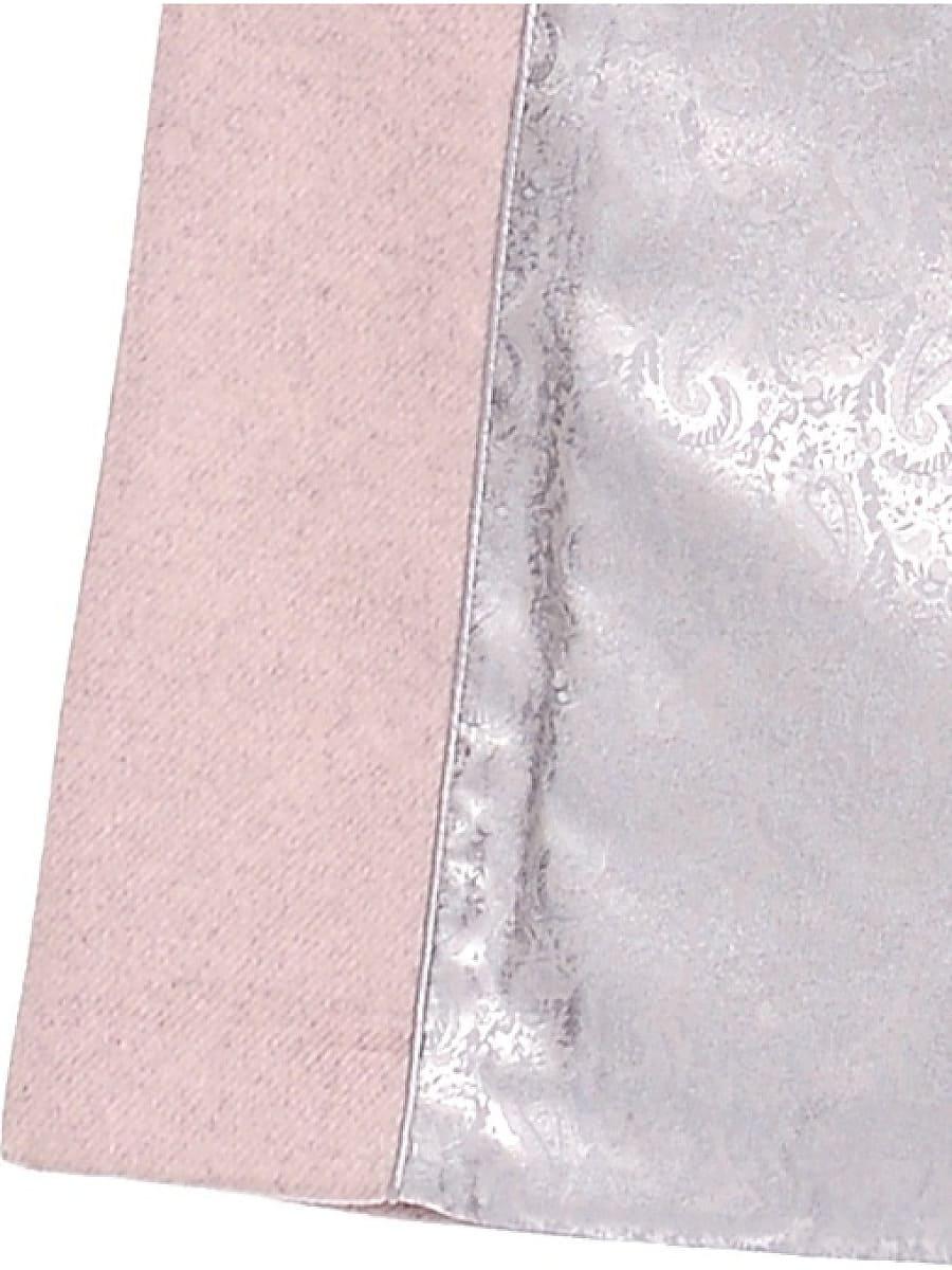 Женское зимнее пальто hr-1018 бледно-розовое фото-4