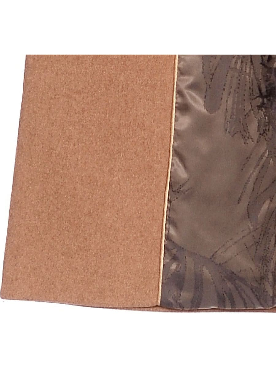 Женское зимнее пальто hr-1009-1 песочное-фото-4