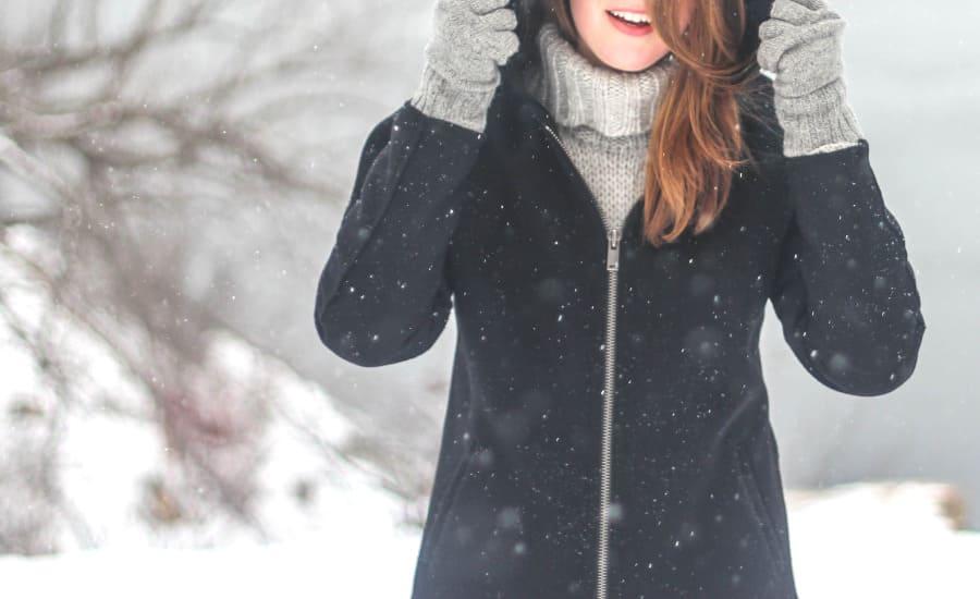 Стильное классическое женское пальто