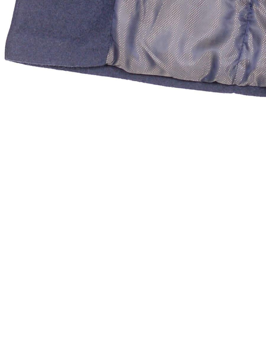 Женское зимнее пальто hr-014a синее фото-4