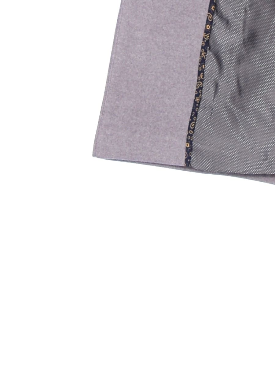 Женское демисезонное пальто hr-056 серое фото-4