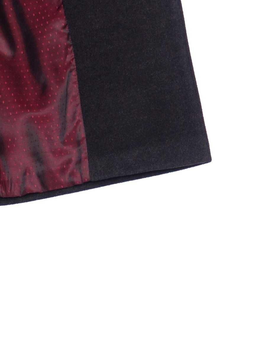 Женское демисезонное пальто hr-002b цвета маренго