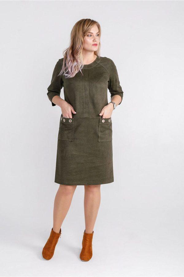 Женское платье LISA HR-0288 цвет зеленый фото-1